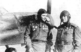 Амет-Хан и Иван Борисов