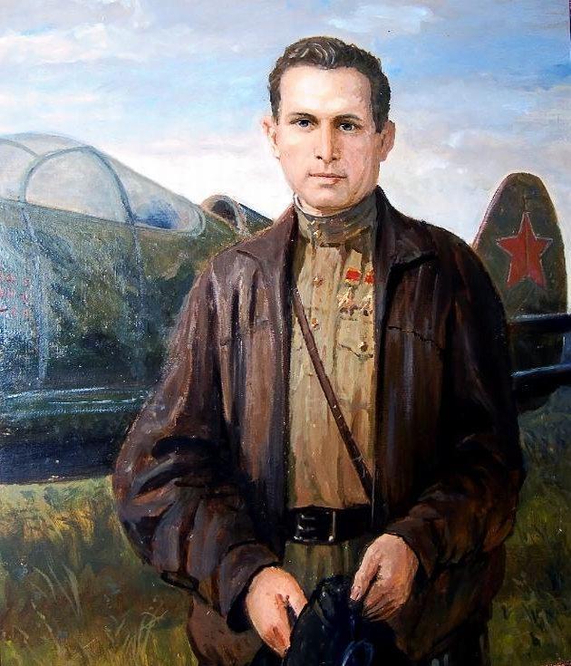 Портрет Павла Камозина.