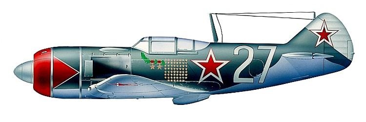 Ла-7 Ивана Кожедуба