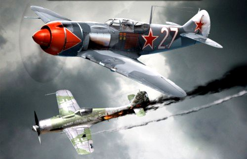 Очередная победа Ивана Кожедуба