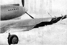 Самолет Хлобыстова после двух таранов