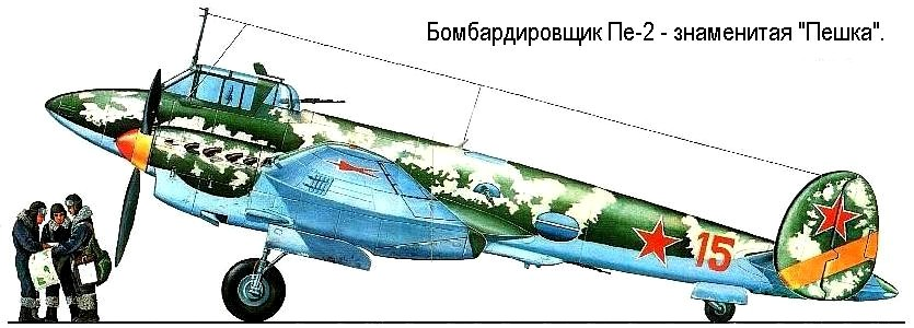 Самолёт Пе-2.