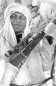 Советские снайперы Великой Отечественной.