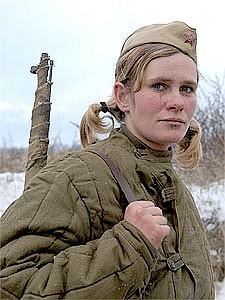 Девушка снайпер ссср