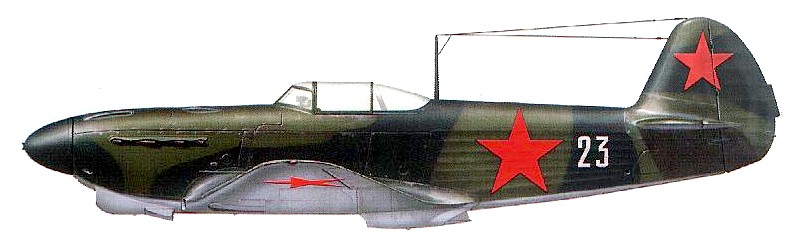 Як-1Б Лидии Литвяк